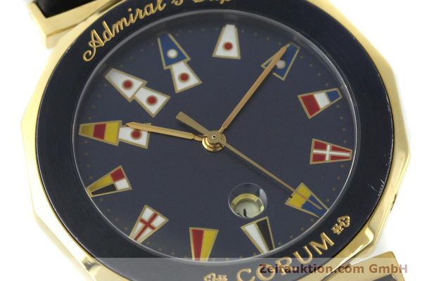 Used luxury watch Corum Admirals Cup gilt steel quartz Kal. 1482 ETA 256111 Ref. 99.810.31  | 141481 02