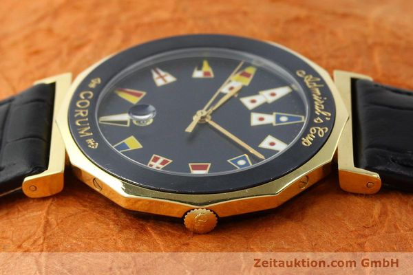 Used luxury watch Corum Admirals Cup gilt steel quartz Kal. 1482 ETA 256111 Ref. 99.810.31  | 141481 05