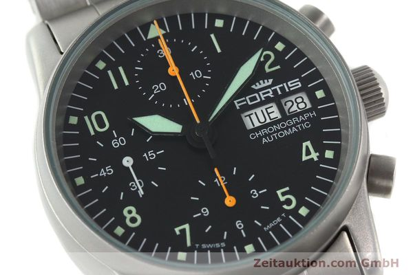Used luxury watch Fortis Cosmonauts Chronograph chronograph steel automatic Kal. ETA 7750 Ref. 622.10.141  | 141483 02