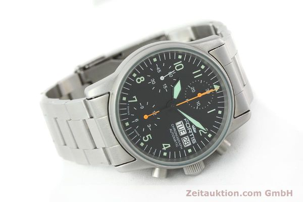 Used luxury watch Fortis Cosmonauts Chronograph chronograph steel automatic Kal. ETA 7750 Ref. 622.10.141  | 141483 03
