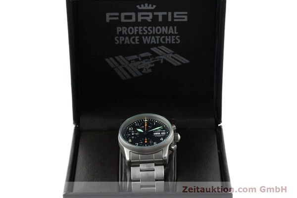 Used luxury watch Fortis Cosmonauts Chronograph chronograph steel automatic Kal. ETA 7750 Ref. 622.10.141  | 141483 07