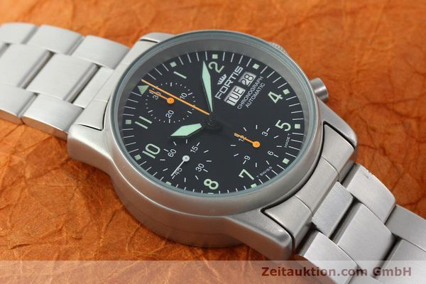 Used luxury watch Fortis Cosmonauts Chronograph chronograph steel automatic Kal. ETA 7750 Ref. 622.10.141  | 141483 14