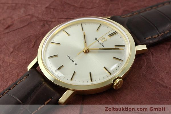Used luxury watch Omega * 14 ct yellow gold manual winding Kal. 601 Ref. 1317021  | 141485 01