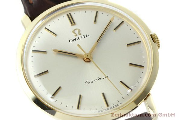 Used luxury watch Omega * 14 ct yellow gold manual winding Kal. 601 Ref. 1317021  | 141485 02