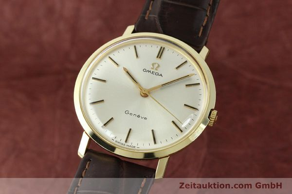 Used luxury watch Omega * 14 ct yellow gold manual winding Kal. 601 Ref. 1317021  | 141485 04