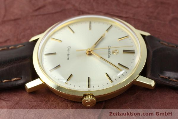 Used luxury watch Omega * 14 ct yellow gold manual winding Kal. 601 Ref. 1317021  | 141485 05