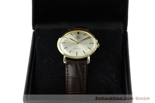 Used luxury watch Omega * 14 ct yellow gold manual winding Kal. 601 Ref. 1317021  | 141485 07