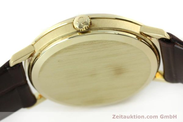 Used luxury watch Omega * 14 ct yellow gold manual winding Kal. 601 Ref. 1317021  | 141485 11