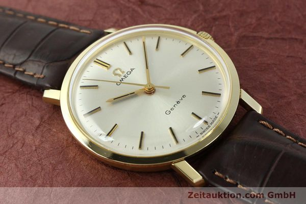 Used luxury watch Omega * 14 ct yellow gold manual winding Kal. 601 Ref. 1317021  | 141485 13