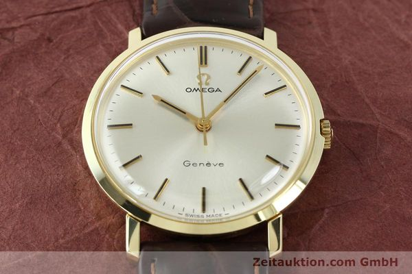 Used luxury watch Omega * 14 ct yellow gold manual winding Kal. 601 Ref. 1317021  | 141485 14