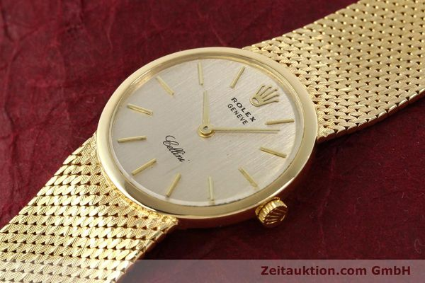 Used luxury watch Rolex Cellini 18 ct gold manual winding Kal. 1600 Ref. 3655  | 141490 01