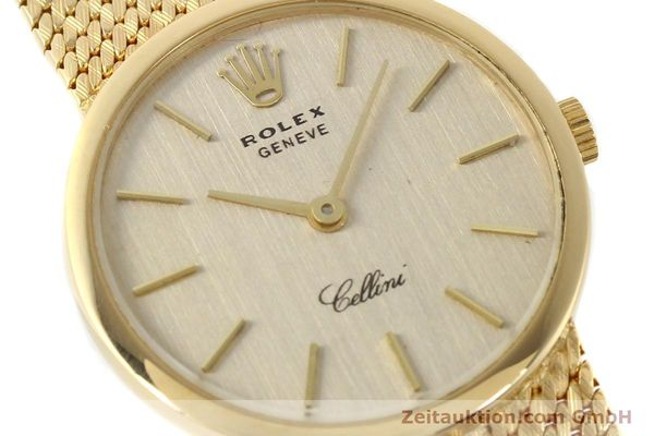 Used luxury watch Rolex Cellini 18 ct gold manual winding Kal. 1600 Ref. 3655  | 141490 02