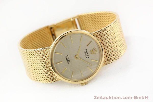 Used luxury watch Rolex Cellini 18 ct gold manual winding Kal. 1600 Ref. 3655  | 141490 03