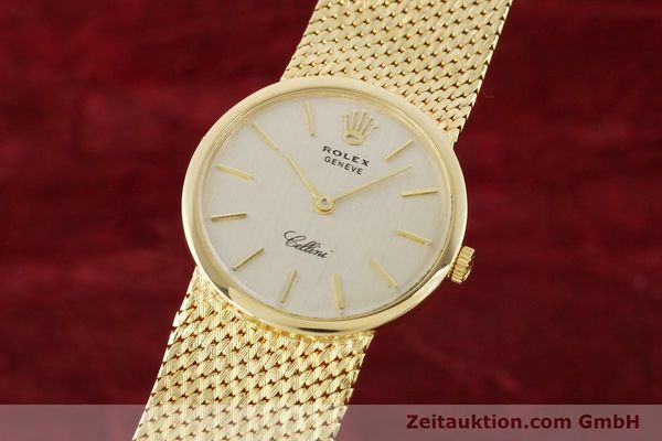 Used luxury watch Rolex Cellini 18 ct gold manual winding Kal. 1600 Ref. 3655  | 141490 04
