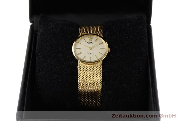 Used luxury watch Rolex Cellini 18 ct gold manual winding Kal. 1600 Ref. 3655  | 141490 07