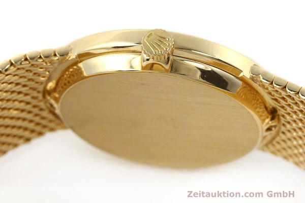 Used luxury watch Rolex Cellini 18 ct gold manual winding Kal. 1600 Ref. 3655  | 141490 11