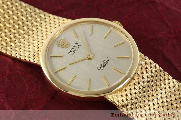Used luxury watch Rolex Cellini 18 ct gold manual winding Kal. 1600 Ref. 3655  | 141490 15