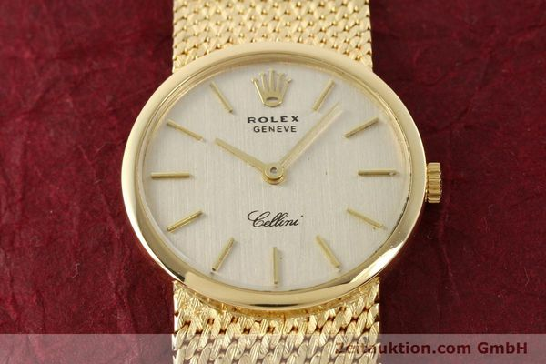 Used luxury watch Rolex Cellini 18 ct gold manual winding Kal. 1600 Ref. 3655  | 141490 16