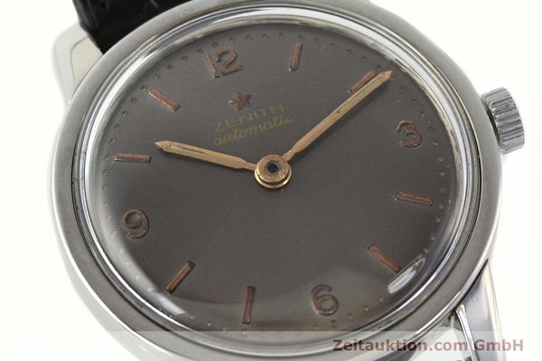 Used luxury watch Zenith * steel automatic Kal. 1338  | 141491 02