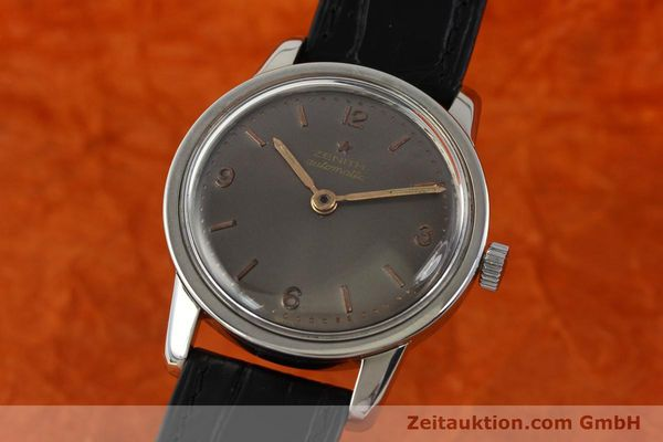 Used luxury watch Zenith * steel automatic Kal. 1338  | 141491 04