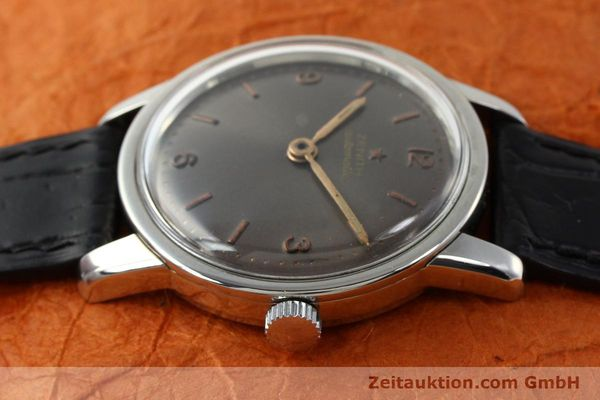 Used luxury watch Zenith * steel automatic Kal. 1338  | 141491 05