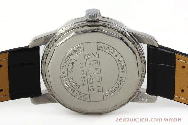 Used luxury watch Zenith * steel automatic Kal. 1338  | 141491 09