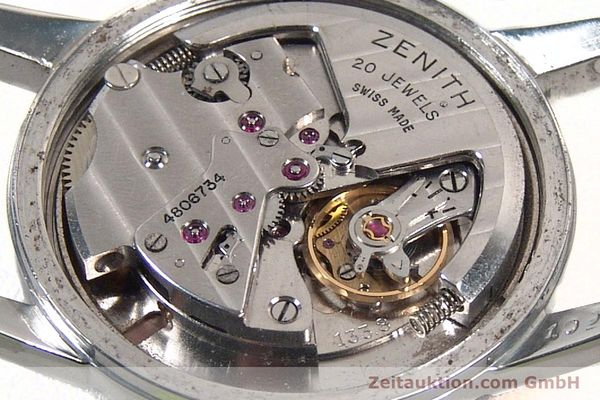 Used luxury watch Zenith * steel automatic Kal. 1338  | 141491 10
