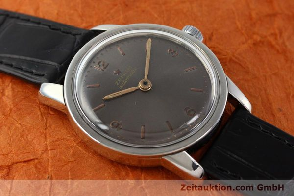 Used luxury watch Zenith * steel automatic Kal. 1338  | 141491 12