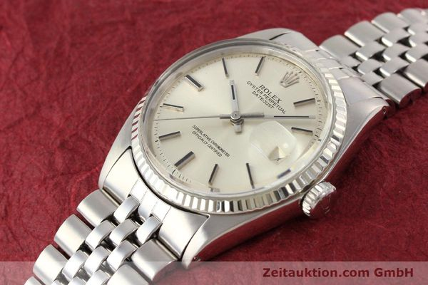 Used luxury watch Rolex Datejust steel / gold automatic Kal. 1570 Ref. 1601  | 141493 01