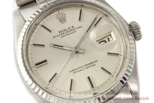 montre de luxe d occasion Rolex Datejust acier / or  automatique Kal. 1570 Ref. 1601  | 141493 02