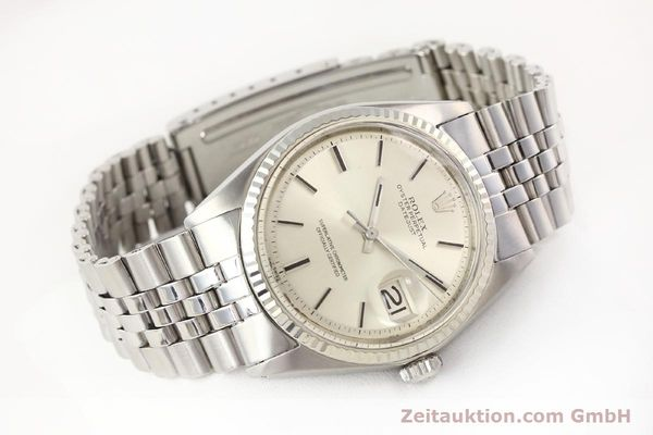 montre de luxe d occasion Rolex Datejust acier / or  automatique Kal. 1570 Ref. 1601  | 141493 03
