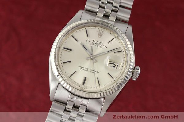 montre de luxe d occasion Rolex Datejust acier / or  automatique Kal. 1570 Ref. 1601  | 141493 04