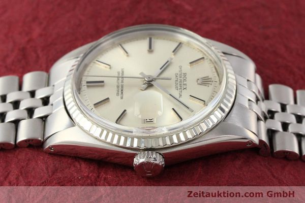 montre de luxe d occasion Rolex Datejust acier / or  automatique Kal. 1570 Ref. 1601  | 141493 05