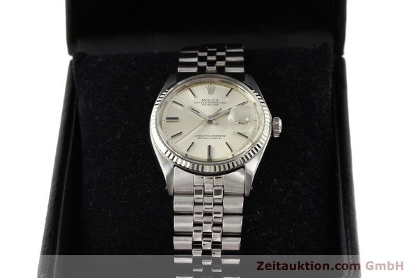 Used luxury watch Rolex Datejust steel / gold automatic Kal. 1570 Ref. 1601  | 141493 07