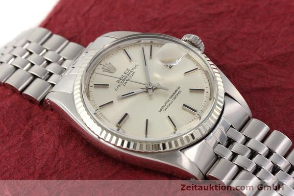 Used luxury watch Rolex Datejust steel / gold automatic Kal. 1570 Ref. 1601  | 141493 14