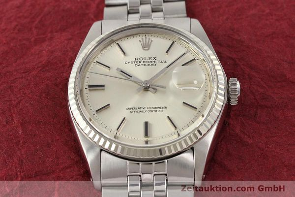 Used luxury watch Rolex Datejust steel / gold automatic Kal. 1570 Ref. 1601  | 141493 15