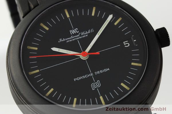 Used luxury watch IWC Porsche Design aluminium automatic Kal. 375 Ref. 3510  | 141494 02
