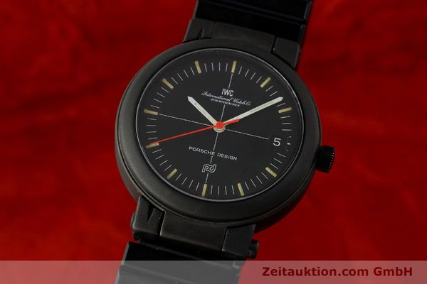 Used luxury watch IWC Porsche Design aluminium automatic Kal. 375 Ref. 3510  | 141494 04