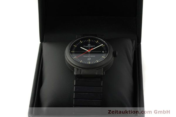 Used luxury watch IWC Porsche Design aluminium automatic Kal. 375 Ref. 3510  | 141494 07