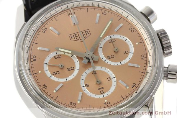 Used luxury watch Tag Heuer Carrera chronograph steel manual winding Kal. LWO 1875 Ref. CS3112  | 141496 02