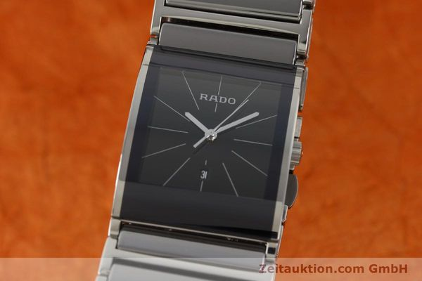 Used luxury watch Rado Integral ceramic / steel quartz Kal. ETA 256.111 Ref. 152.0784.3  | 141505 04
