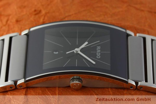 Used luxury watch Rado Integral ceramic / steel quartz Kal. ETA 256.111 Ref. 152.0784.3  | 141505 05