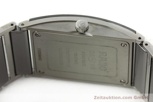 Used luxury watch Rado Integral ceramic / steel quartz Kal. ETA 256.111 Ref. 152.0784.3  | 141505 10
