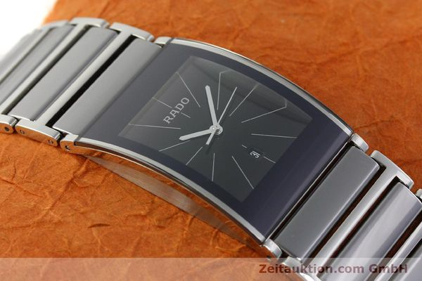 Used luxury watch Rado Integral ceramic / steel quartz Kal. ETA 256.111 Ref. 152.0784.3  | 141505 15