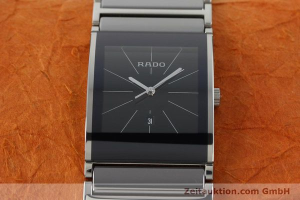 Used luxury watch Rado Integral ceramic / steel quartz Kal. ETA 256.111 Ref. 152.0784.3  | 141505 16