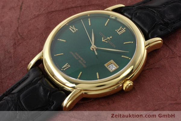 Used luxury watch Ulysse Nardin San Marco 14 ct yellow gold automatic Kal. ETA 2892-2 Ref. 131-77-9  | 141506 01