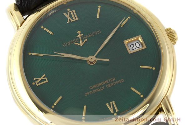 Used luxury watch Ulysse Nardin San Marco 14 ct yellow gold automatic Kal. ETA 2892-2 Ref. 131-77-9  | 141506 02