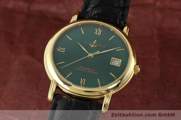 Used luxury watch Ulysse Nardin San Marco 14 ct yellow gold automatic Kal. ETA 2892-2 Ref. 131-77-9  | 141506 04