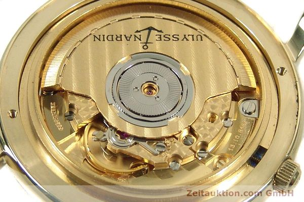 Used luxury watch Ulysse Nardin San Marco 14 ct yellow gold automatic Kal. ETA 2892-2 Ref. 131-77-9  | 141506 10