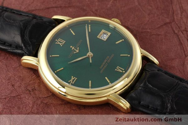 Used luxury watch Ulysse Nardin San Marco 14 ct yellow gold automatic Kal. ETA 2892-2 Ref. 131-77-9  | 141506 19